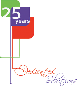 25 years Dedicated Solutions